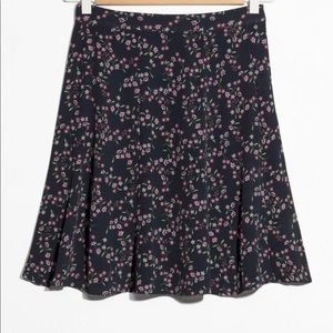 NWOT & Other Stories Floral Mini Skirt